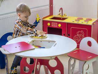 Masuta pentru copii (fabricată din placaj mesteacăn) - 990 lei