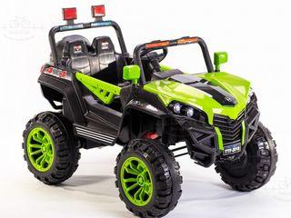 Masina cu motor electric  pentru copii TTF-2018 verde
