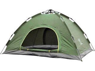Палатка автоматическая 2-х местная зеленая