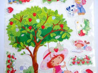 Наклейки для декора детской комнаты. Большие, красивые 8л и 12 л