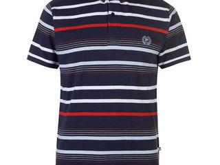Поло футболка, новая, красивая- Pierre Cardin Stripe 4 Polo Shirt Mens - 250 лей.  Воротник на пугов