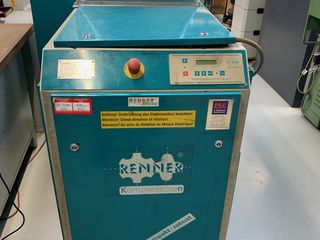 15 kW 1960 литров в минуту. Винтовой компрессор б/у Германия+подарок