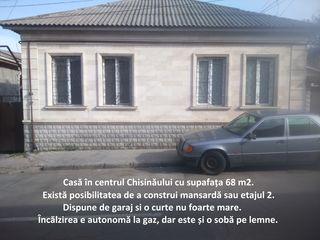Vindem urgent casa de pe str. Armenească. Dispune de curte și garaj.