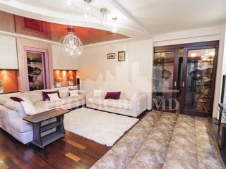 Chirie lux! 2 camere+living+terasă spațioasă! str. M. Eminescu - 1100 euro