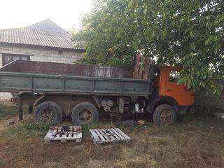 Камаз с прицепом сельхоз