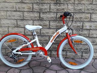 Продам велосипед  Author от 5 до 9 лет . Размер колес 20.