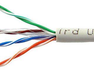 UTP кабель. Cablu UTP