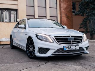 Mercedes-Benz S Class AMG Long 2017 - 25 €/ora (час) cu sofer/с водителем