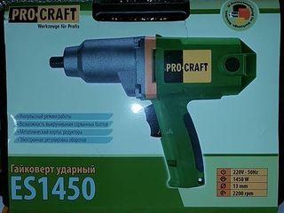 Гайковёрт ударный Procraft es-1450
