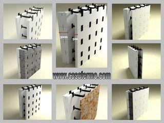 Producem la comandă cofraje din polistiren pentru construcții, prețul de la 250 lei.m/p.