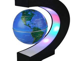 Ультрафиолетовые фонари, Левитирующий глобус.