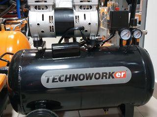 Compresor technoworker  sk 1500-100 l / cea mai buna alegere / garantie 3 ani/ livrare la domiciliu!