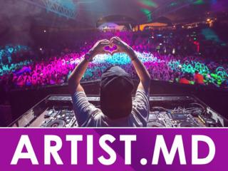 Artști & show - DJ, MC, Club's DJS -  toți artiștii și vedetele Moldovei