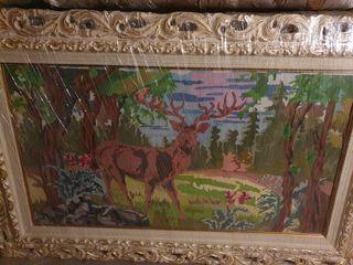 Продаю картину вышитую крестиком очень больших размеров.Эксклюзив,