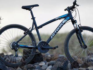 Алюминиевый велосипед, двойные обода, амортизатор передний с ходом на 80мм, обвес  Shimano. Хорошее