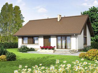 Современный дом с удобной планировкой