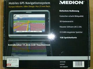 Medion-gps-navigatorsystem Md-96270