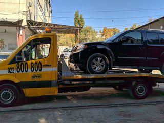 Evacuator  Moldova 24/7 Auto Club Asist
