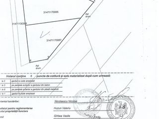 Teren p/u constructie in satul Porumbeni