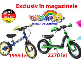 Biciclete fara pedale pentru copiii si penyboard-uri din Germania, Hudora GmbH.