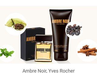 Ambre Noir, Evidence, Nature,Cuir Vetiver Yves Rocher