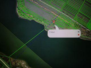 Prima linie, 2500 m.p. direct pe malul lacului Danceni pentru constructie, la iesirea din Chisinau