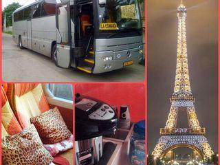 Moldova - Franta! Autobuz 5 stele. Plecări Miercuri și Vineri