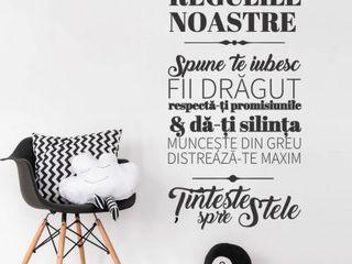 Stickere decorative pentru casa, oficii, restaurante, vitrine.(Autocolante)
