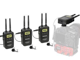 Microfon Wireless sistem Saramonic VmicLink5 (RX+TX+TX+TX).  Livrare gratuita în toată Moldova