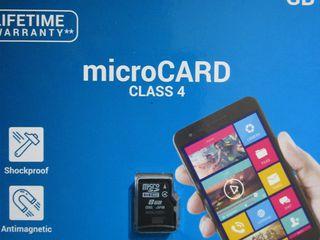 FLASH карты памяти MicroSD.