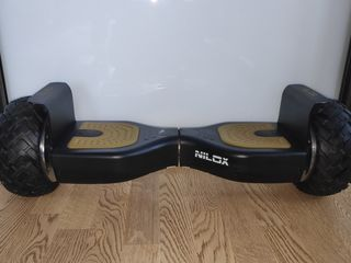 Vând hoverboard nilox doc+ music gold/black