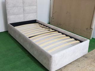 Односпальная кровать 90x190см с подъемным механизмом и бельевым ящиком