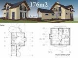Casa varianta alba cu o suprafata de 176 m2 la doar 52920 euro.
