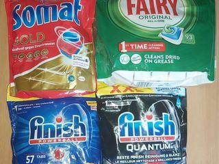 Detergenti si poduse alimentare din Italia. Dash. Dixan .Finish. Cocolino