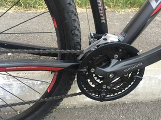 Bicicleta practic noua20 km parcursi