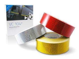 Светоотражающая и Световозвращающая  Лента для контурной маркировки авто - Reflexite