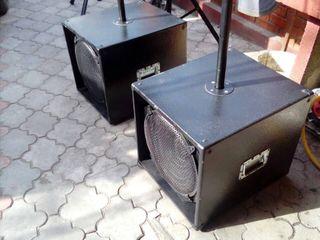 """2 bași M-Voice 15""""-600W .8"""
