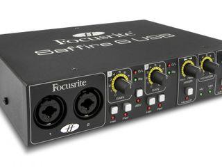 Профессиональная звуковая карта Focusrite Saffire 6 USB