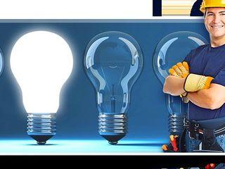 Calitate. Garantie. Electrician profesional 24/24! Fără intermediari la prețuri accesibile.