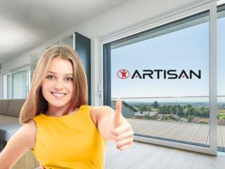 Окна перегородки и двери портального типа из ПВХ - HST / PSK Euro / Slide / FS   Германия! Rehau!