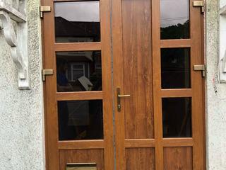 Uși de intrare din PVC de la producător în 7-14 zile