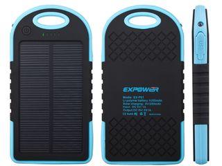 Универсальный внешний аккумулятор для зарядки мобильных устройств.