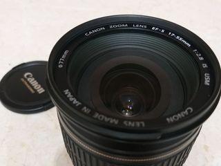 Canon 17-55 2.8 +filtru