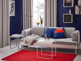 Ковры Ворсистые или безворсовые, куглые, квадратные или из натуральной шкуры IKEA ИКЕА