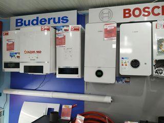 Cazane pe gaz | Газовые котлы:  Immergas, Bosch, Ferroli, Buderus, Warmhaus, Vaillant, Demrad