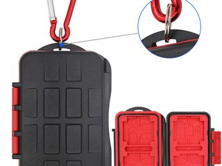 Memory Card Case Holder Anti-shock Camera Card Box Storage Protector for Micro S