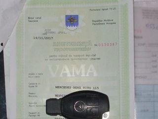 Mercedes 115CDIlong 2010Vito