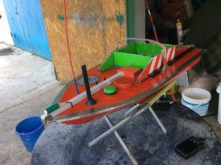 Радиоуправляемый кораблик с эхолотом