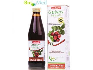 Suc de merisoare bio сок из брусники био