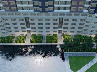 2 dormitoare separate bucatarie si living etaj 6 geamuri spre parc / în varianta albă